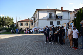 Μια χαρούμενη γιορτή η εκδήλωση βράβευσης των μαθητών που αναδείχθηκαν στον Διαγωνισμό Ζωγραφικής με θέμα την Ελληνική Επανάσταση του 1821