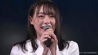 At a student theater performance training or AKB48 kenkyuusei titled 'Pajama Drive',bSato Shiori announced her graduation from the group.   Shiori said she would say goodbye from the group to fans who watched the show that day.   In her announcement Shato Shiori said that her dream of becoming an AKB48 member came true, she had no further goals.   Meanwhile she has found a new destination and wants to study abroad.   The graduation ceremony will be held on November 27 at the AKB48 Theater.   Her last handshake event will be held on November 23, 2019. Sato Shiori is a third generation member of the AKB48 Group audition draft, she was chosen by Team A at the audition.