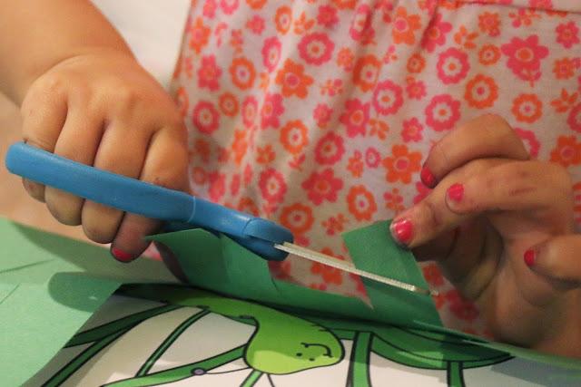 preschool scissor skills