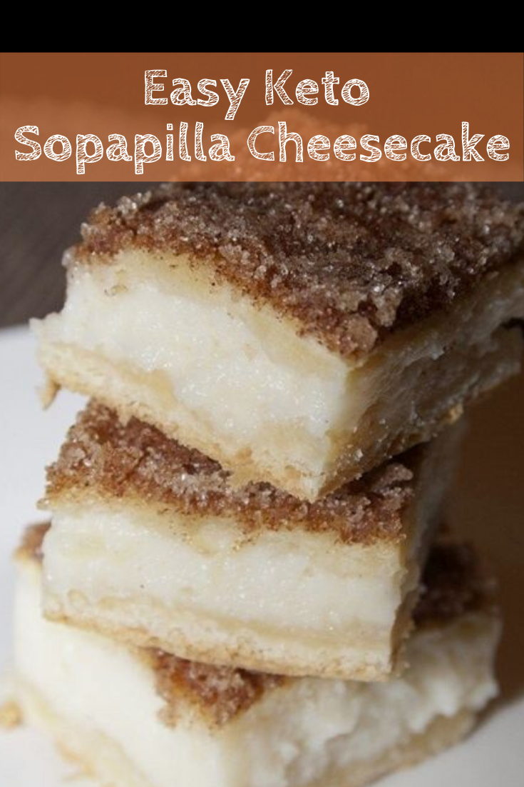 Easy Keto Sopapilla Cheesecake