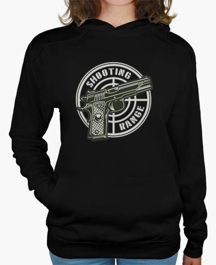 Sudaderas Mujer - Diseño Shooting Range