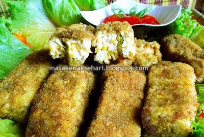 Cara Membuat Nugget Tahu, Ayam dan Sayuran Gurih