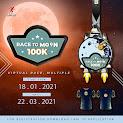 Race to Moon 100K – Charity Virtual Race • 2021