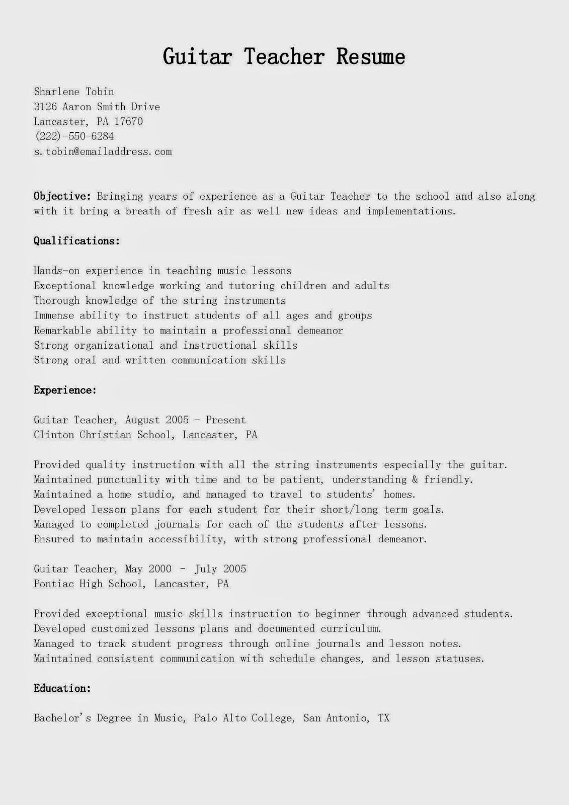 special education assistant resume skills ed