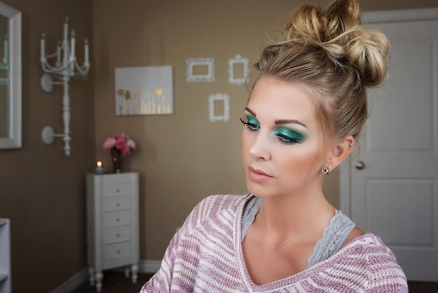 Jaclyn Hill x Morphe Palette Mermaid look justmelsdotcom