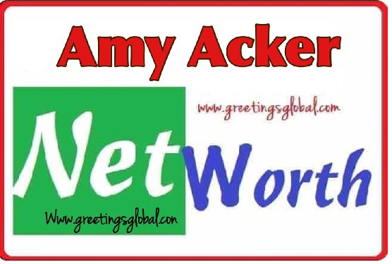Amy Acker Net worth 2020