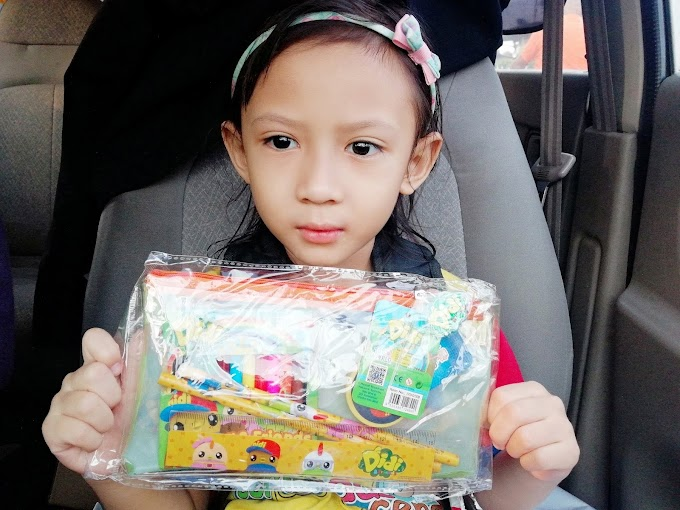 PENCIL CASE AND STATIONERY DIDI AND FRIENDS HASIL REDEEM POINT ASTRO CIRCLE