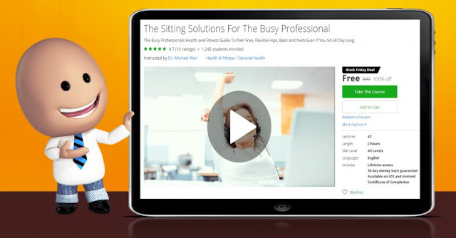 [100% Off] The Sitting Solutions For The Busy Professional| Worth 90$