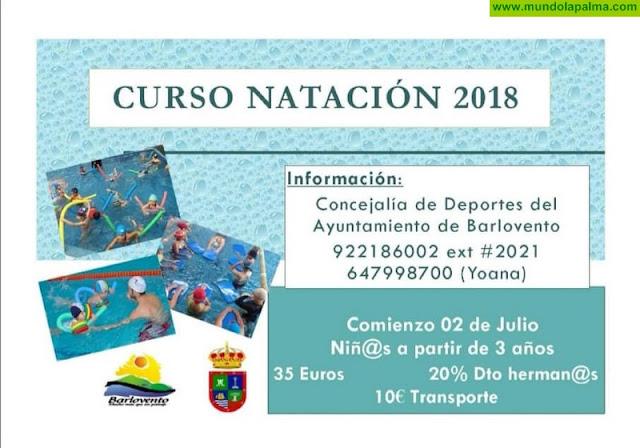 Cursos de Natación en Barlovento para niños y adultos
