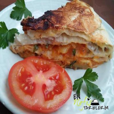 Tava Böreği Patatesli Malzemeleri