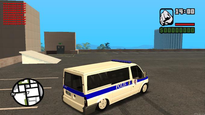 MTA SA Ford Transit Polis