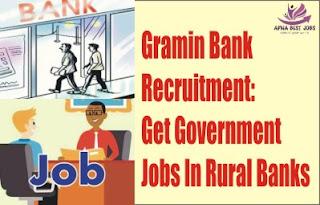 Gramin Bank Recruitment