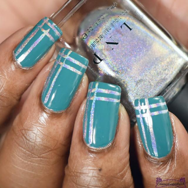 Easy Striping Tape Nail Art