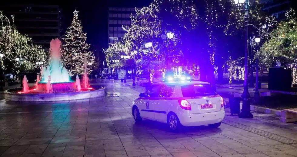 Πρωτοχρονιά: 10.000 αστυνομικοί - Μπλόκα στρατιωτικού τύπου - Έλεγχος των social media & έφοδοι σε σπίτια