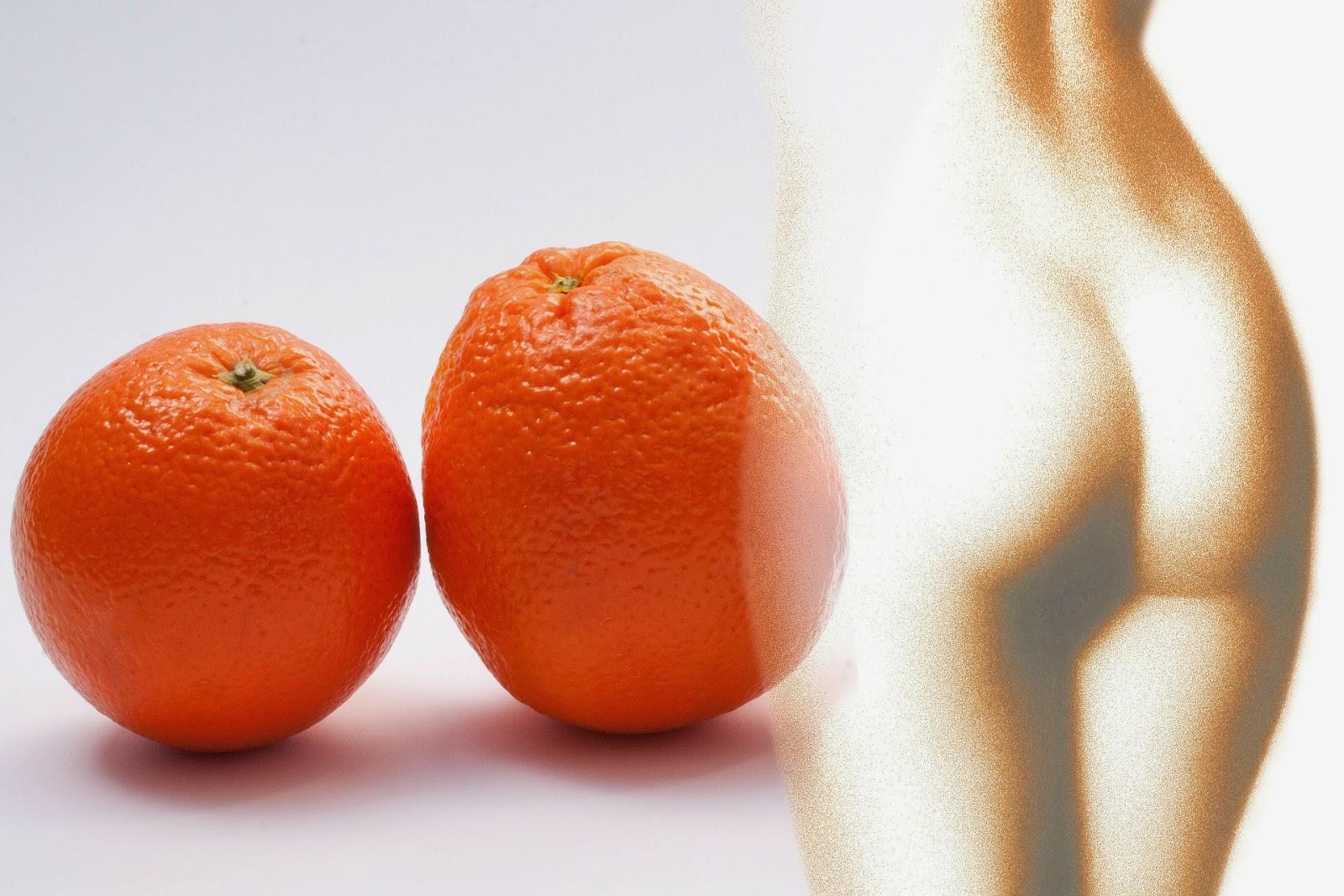 kobieta pomarańczowa skórka