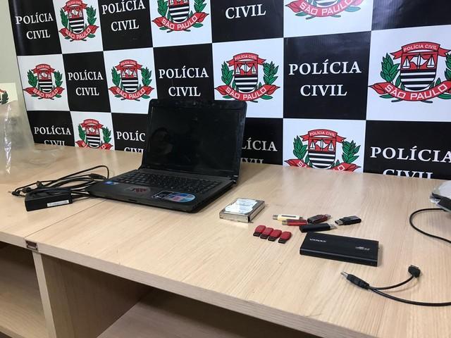 Homem é preso por pornografia infantil em Rio Preto