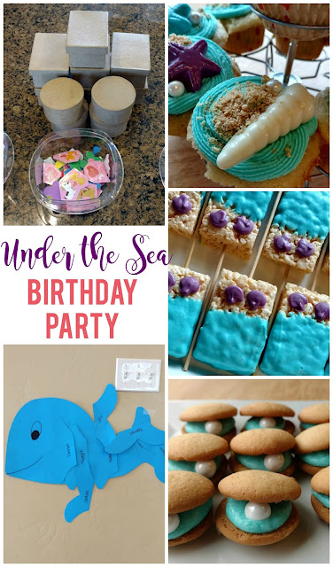 Top 10 posts of 2017: Mermaid Under the Sea Birthday Party