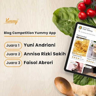 juara-lomba-blog-yummy-app