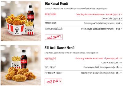 KFC(Kentucky Fried Chicken) Hakkında Genel Bilgiler ve KFC Menü Tavsiyeleri