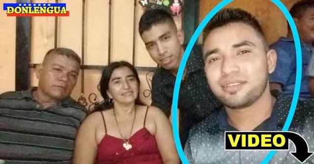 Hijo de asesinados en Apure acusa al FAES de hacer un montaje