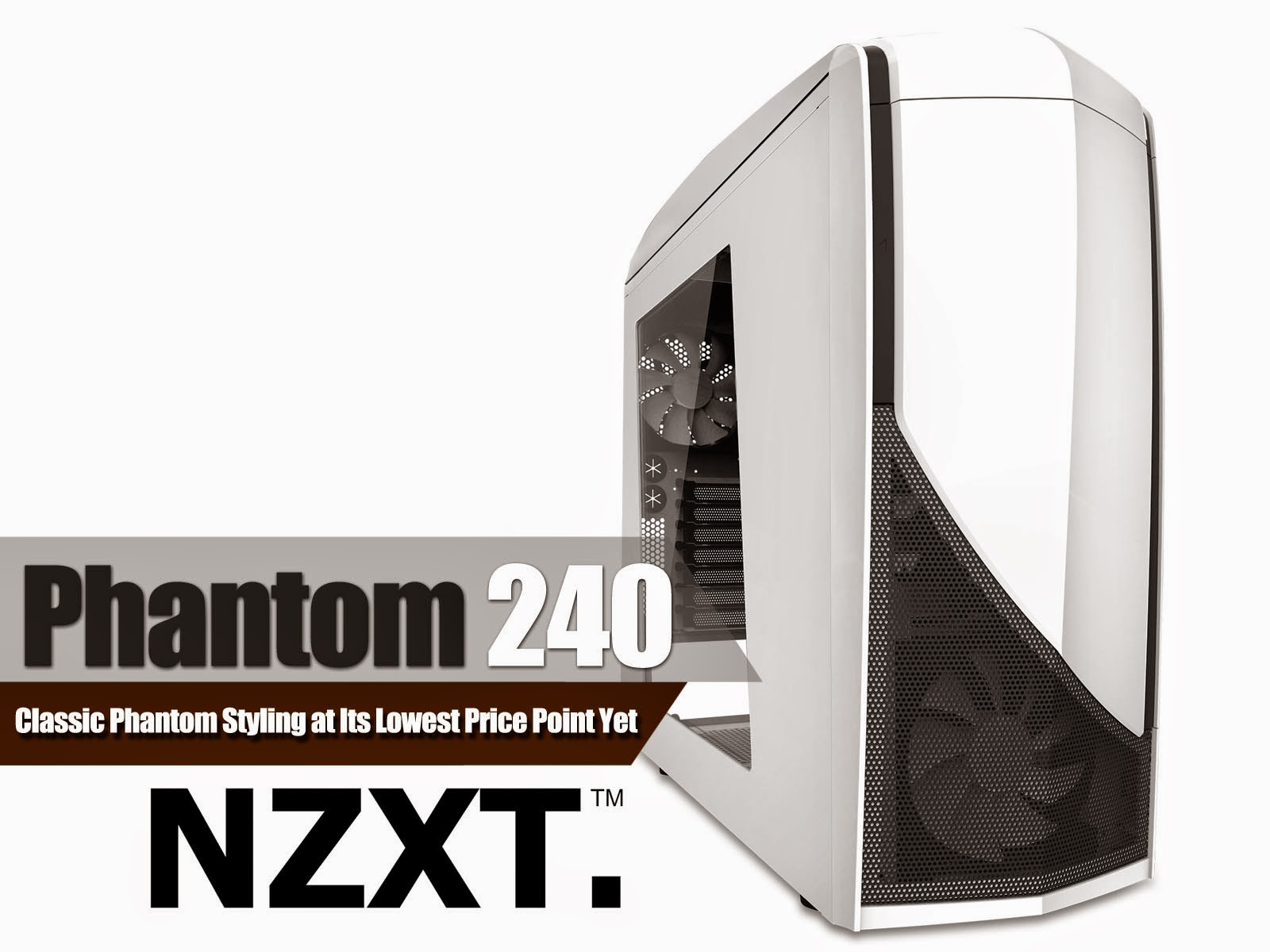 NZXT Announces Release of the Phantom 240 Mid-Tower Chassis 9