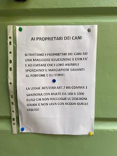 AI PROPRIETARI DEI CANI.