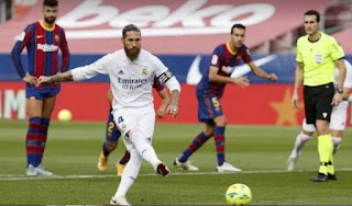 Barcelona and Real Madrid go more than half a season without being awarded a penalty