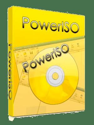 PowerISO box Imagen