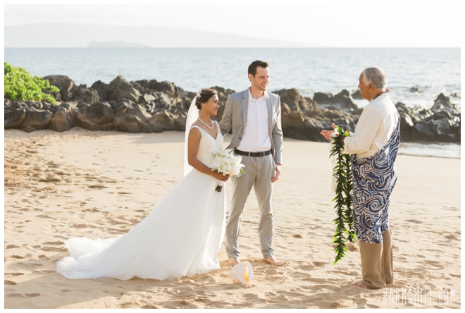 Wailea Sunset Elopement Photographers