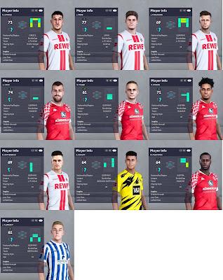 PES 2021 Bundesliga Facepack