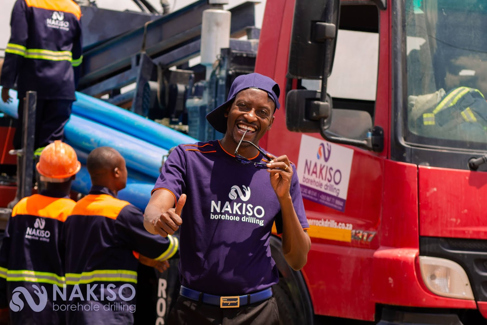Bishop Pride Sibiya Endorses Nakiso Borehole Drilling