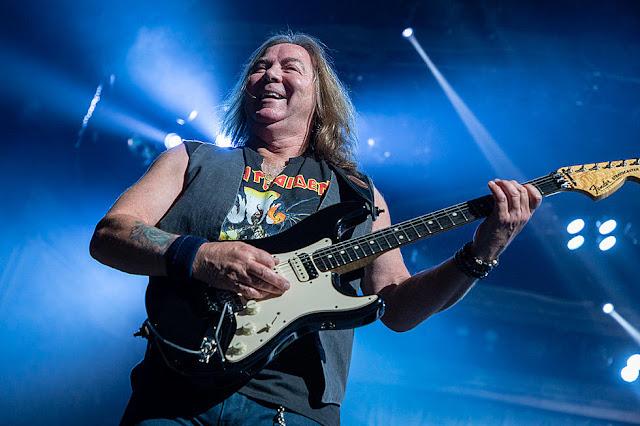 Rock in Rio: guitarrista do Iron Maiden ficou impressionado com a venda de ingressos