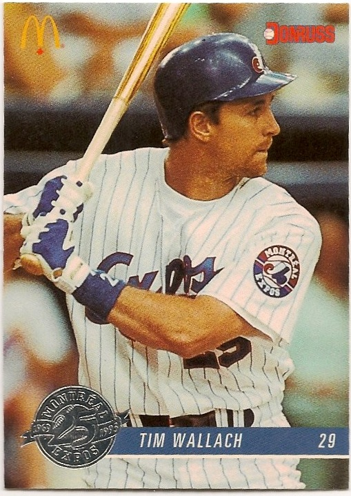 Tim Wallach 1993 Donruss Mcdonalds Expos 8