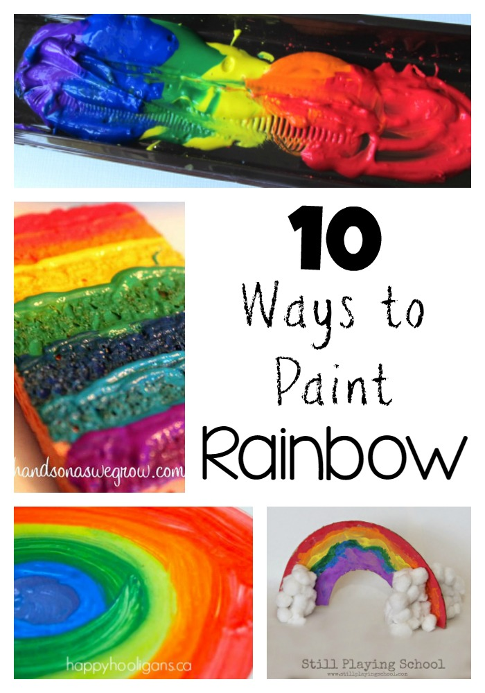 10 Kitchen And Home Decor Items Every 20 Something Needs: Ten Ways To Paint A Rainbow