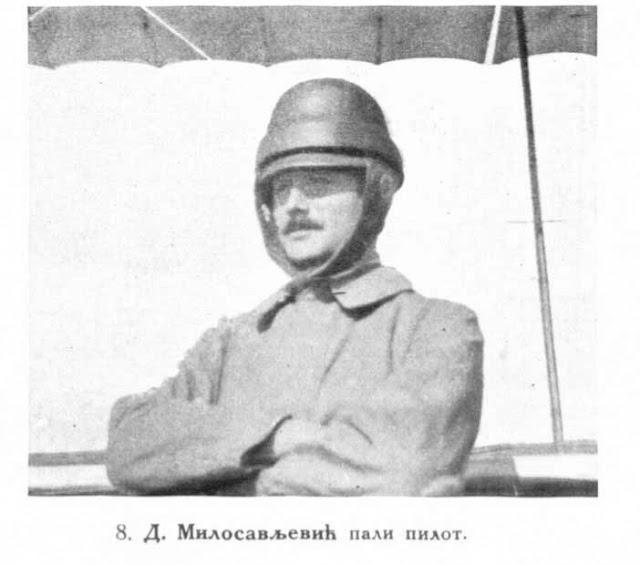 D. Milosavljevic, the fallen pilot