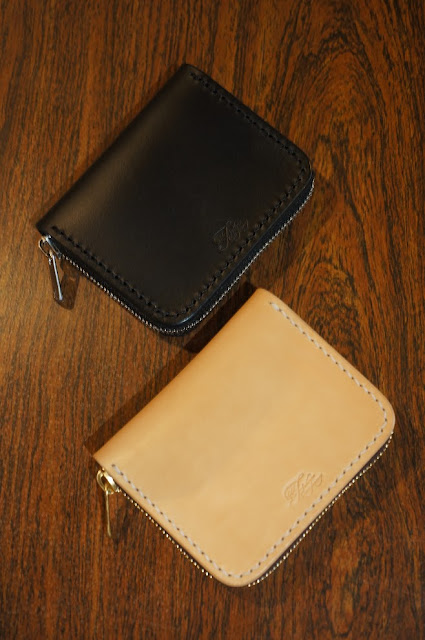 OLD FELLOW COMPANY ROUND ZIPPER WALLET