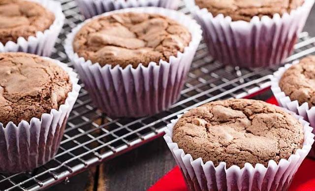 Muffin de Chocolate de Liquidificador