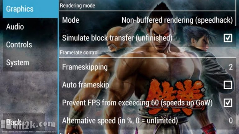 TEKKEN 6 For PPSSPP Android And PC