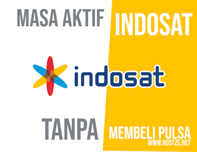 Cara Beli Masa Aktif Indosat Tanpa Membeli Pulsa - hostze.net