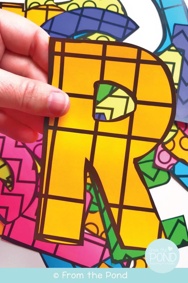 Free Printable Bulletin Board Letters : printable, bulletin, board, letters, Pond:, September