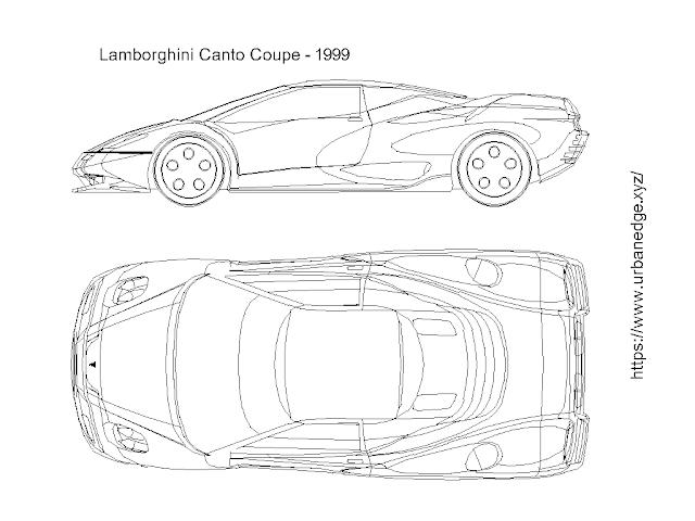 Car dwg cad block free download - Lamborghini Canto