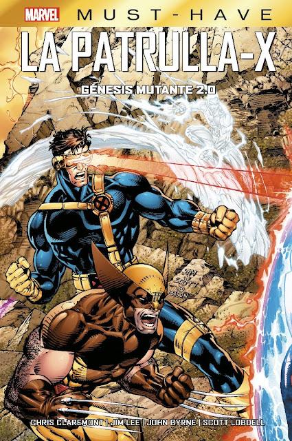 Review del cómic La Patrulla-X: Génesis Mutante 2.0 de Chris Claremont y Jim Lee - Panini Cómics