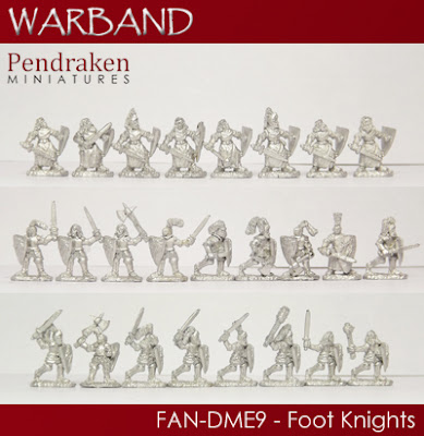 FAN-DME9   25 x Foot Knights