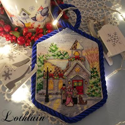 Christmas Village Ornaments