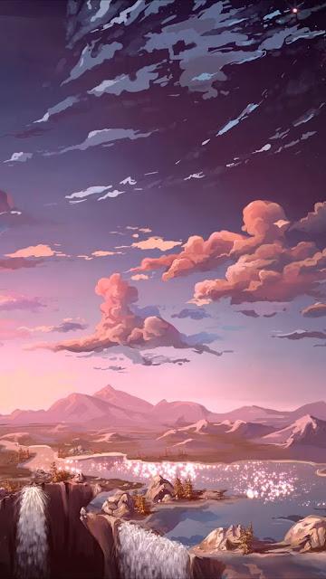 Beautiful Anime painting landscape