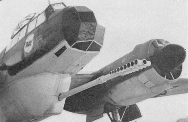 Junkers Ju 88P-5 with muzzle brake worldwartwo.filminspector.com