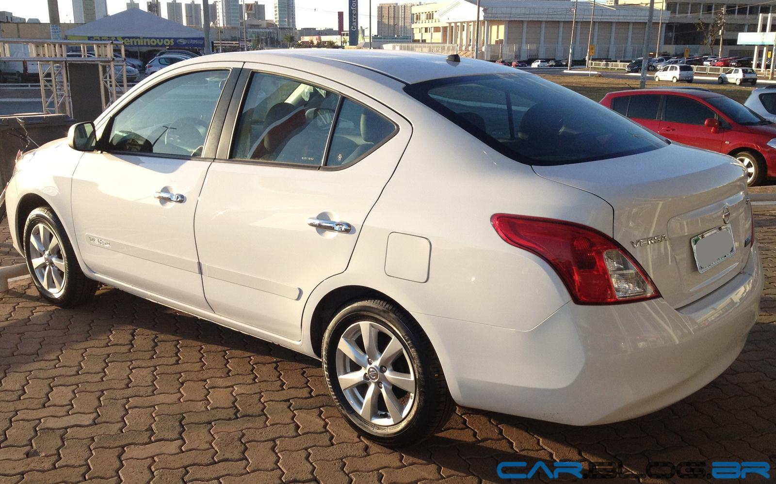 Nissan Versa SL 1.6 2013 topo de linha tem preço de R$ 41 ...