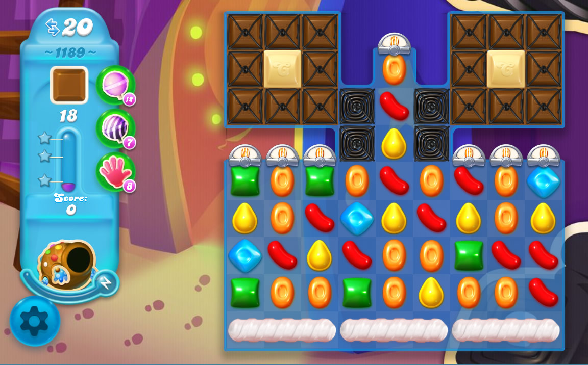 Candy Crush Soda Saga level 1189