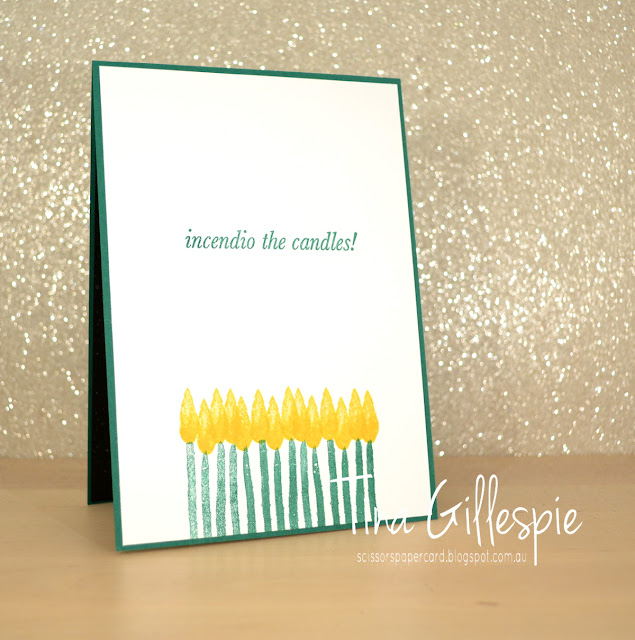 scissorspapercard, Stampin' Up!, The Ink Road, Expecto Stampo, Labeler Alphabet, Incredible Like You, Scan And Cut