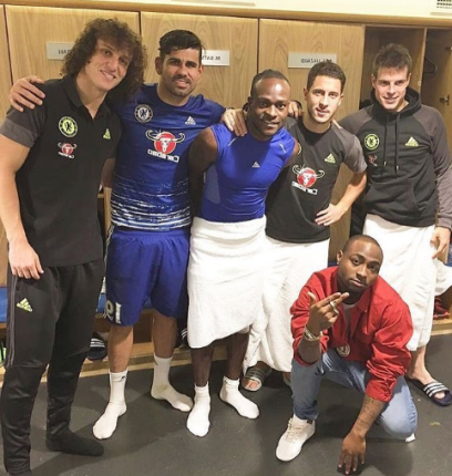 Davido in - Chelsea striker Diego Costa admits he unhappy living in England